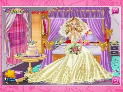 لعبة ترتيب غرفة العروسة