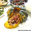 Pumpkin rice bowl 黄金饭