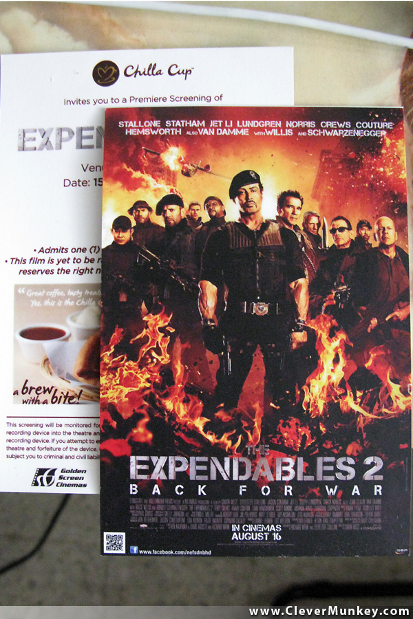 The Expendables 2 2012 Movie Review Clevermunkey Events Food Gadget Lifestyle Travel