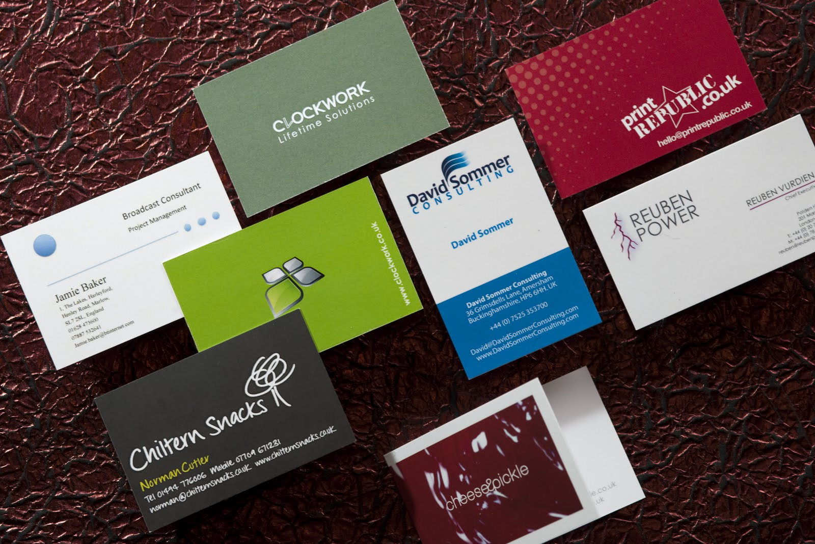 quality products vast selection quite nice Business Card Printing - What's Best, On-line or Offline ...