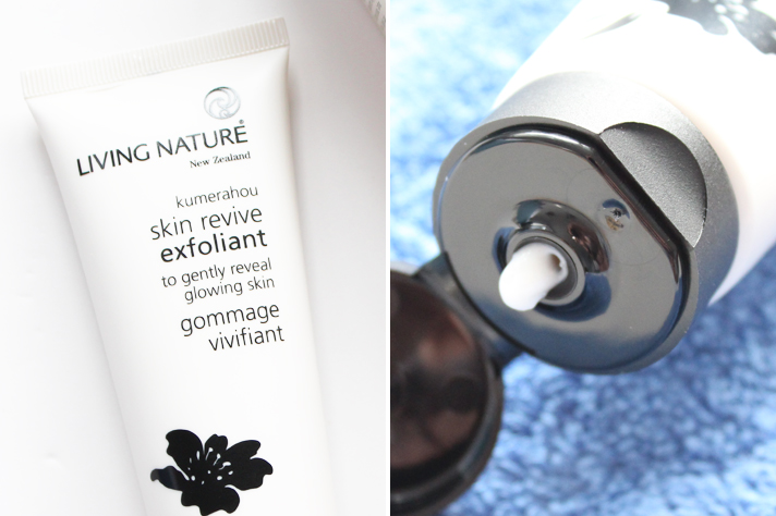 LIVING NATURE | Skin Revive Exfoliant Review - CassandraMyee