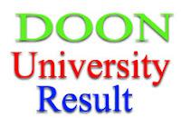 Doon University Results