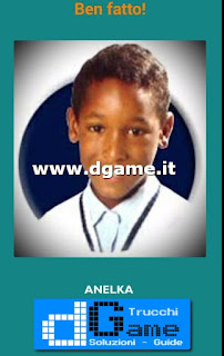 Soluzioni Guess the child footballer livello 56