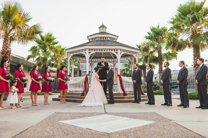 Galveston Railroad Museum Wedding Venues
