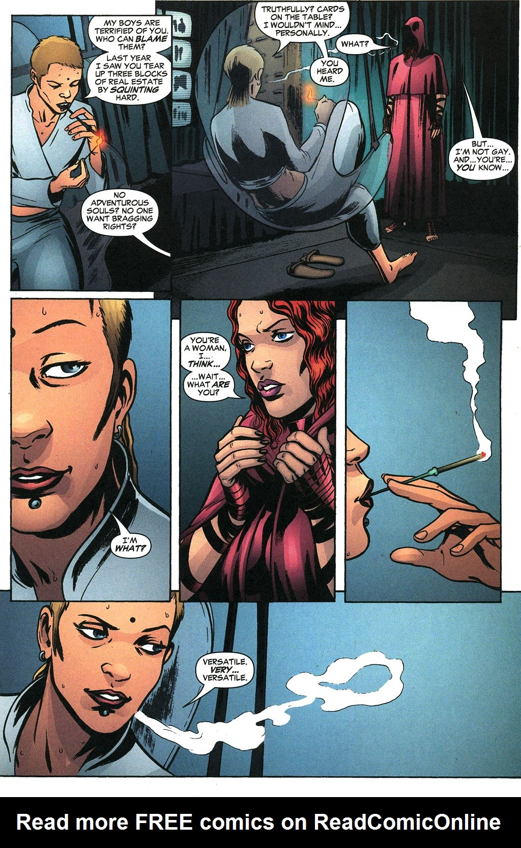 Read online Fallen Angel (2003) comic -  Issue #19 - 21
