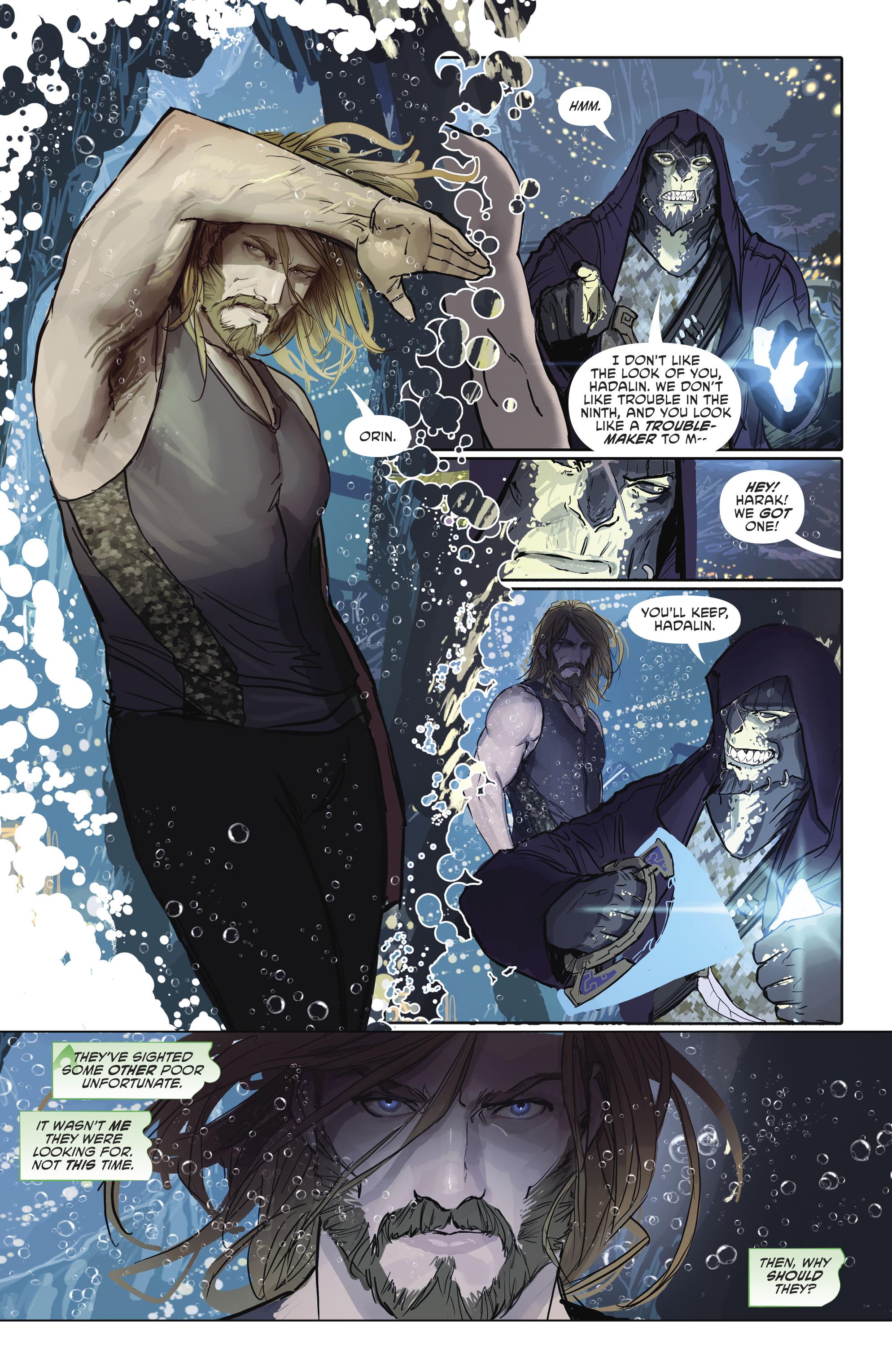 Read online Aquaman (2016) comic -  Issue #25 - 11