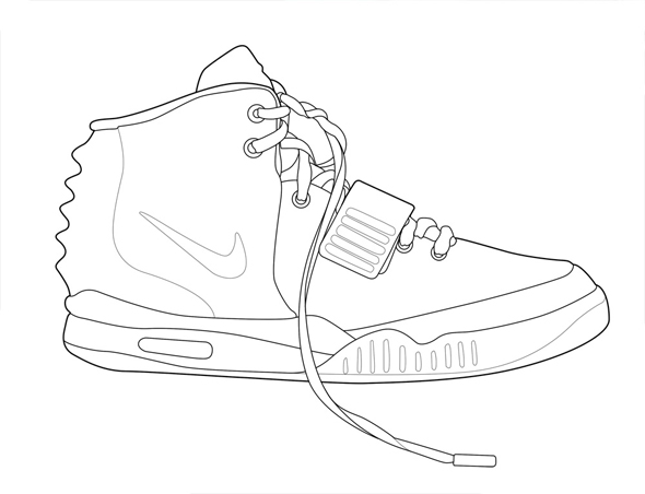 The Athletic Genius: Color Your Own Nike Air Yeezy 2