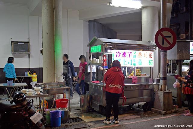 MG 1206 - 阿斗伯冷凍芋,許多台中人下午茶與宵夜的首選,烤吐司、熱豆花、番茄切片經典好吃