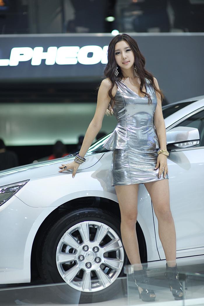 Choi Yu Jung - Toyota Motor Show in Korean Photos ...