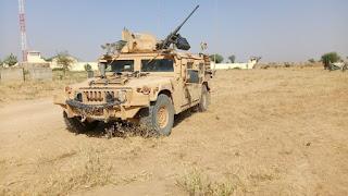 U.S. SOCOM HUMVEE spotted in Cameroon