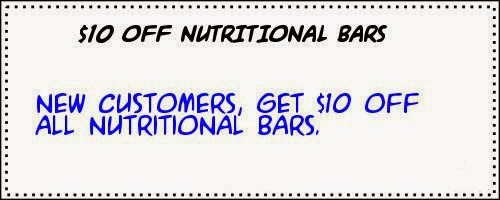 iherb coupon Nutritional bars