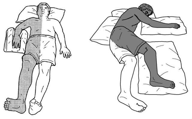 nằm ngủ nghiêng về bên trái đặc biệt tốt cho sức khỏe