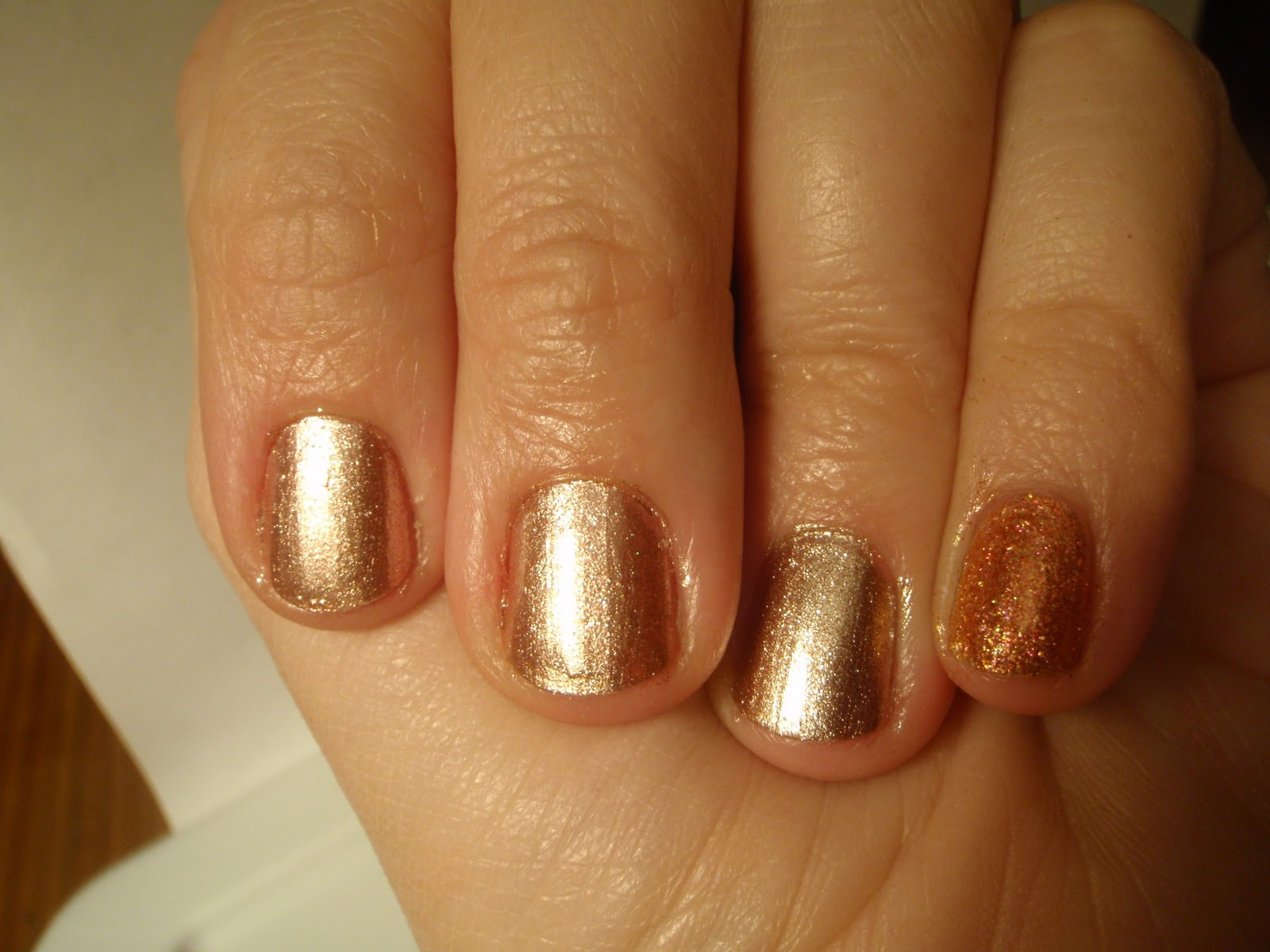 I swatch it, so you dont have to!: Army green nail polish