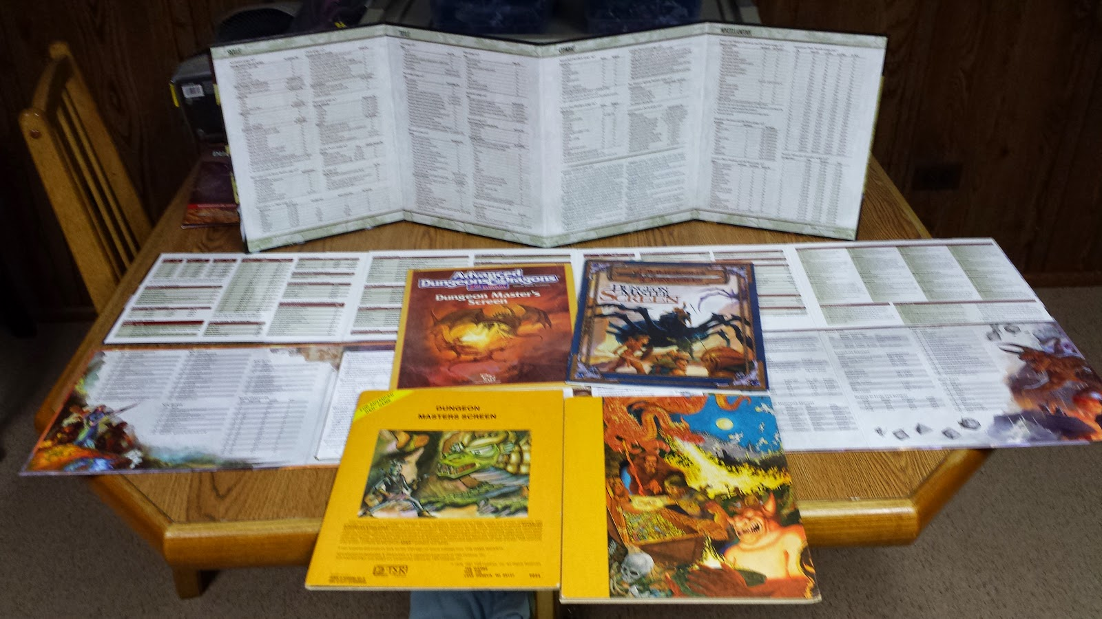 The Other Side blog: Dungeons & Dragons 5th Ed DM's Screen