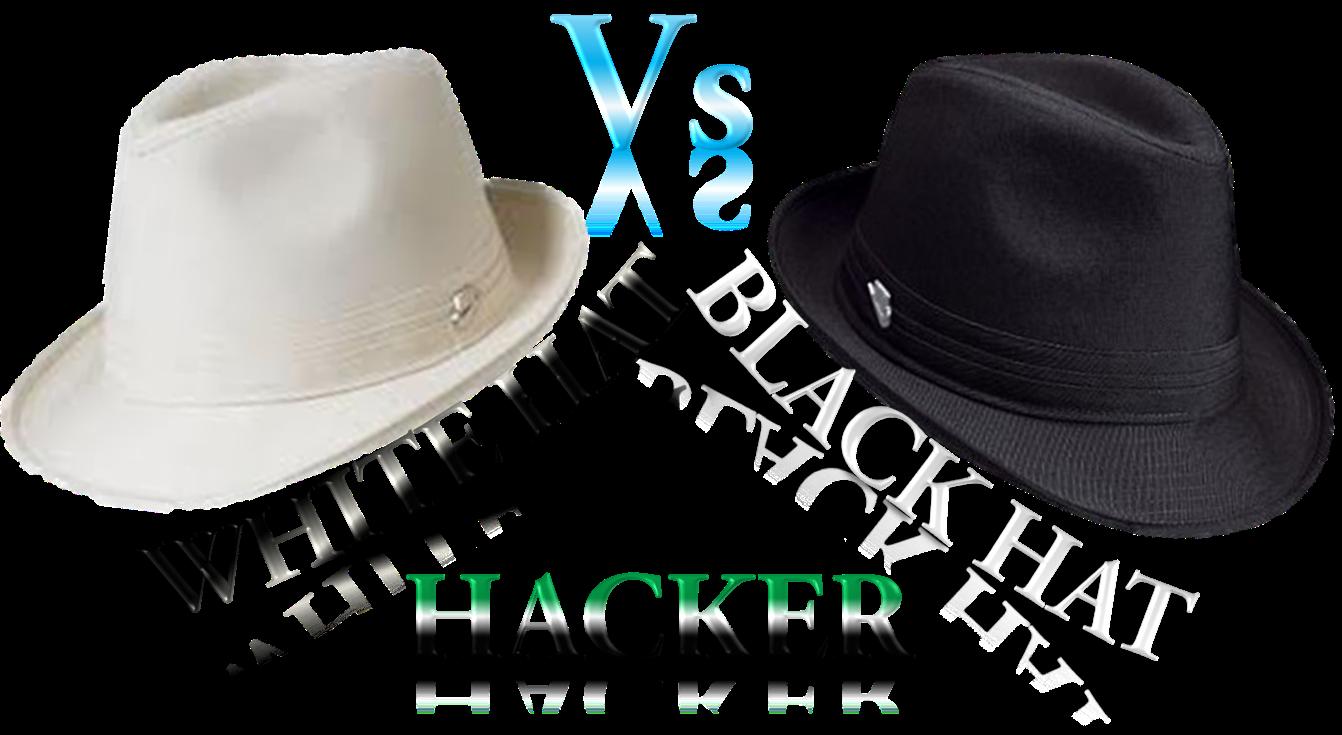 white hat vs black hat...