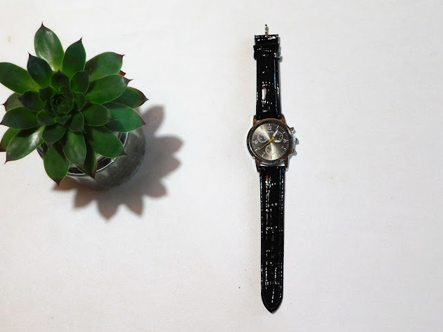rosegal, recenzija, review, watch, men, sat, muški, remen, kožni, leather belt, black, crni