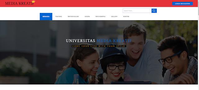 Program Sistem Akademik Kampus (SIAKAD) Berbasis WEB dengan CodeIgniter