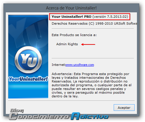 Your Uninstaller 2010 Pro 7.0.2010.11 Portable Edition Serial Key
