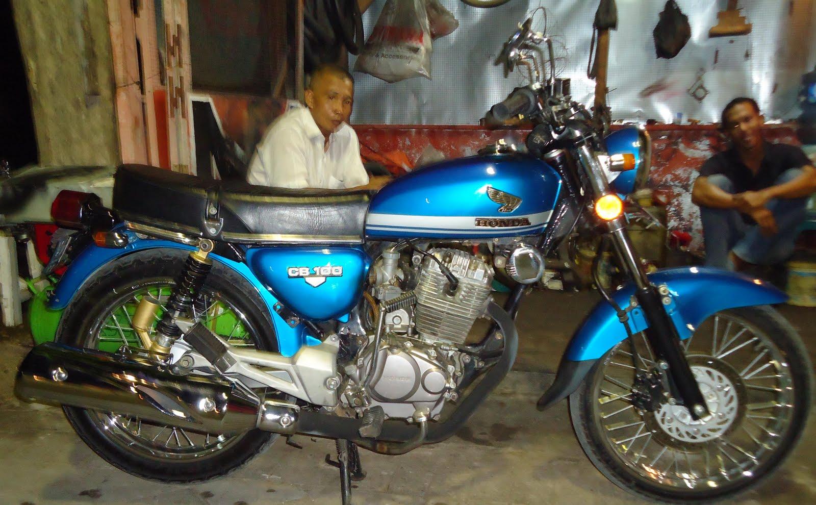 Foto Modifikasi Motor Honda Cb Mesin Tiger Modifikasi Motor Beat