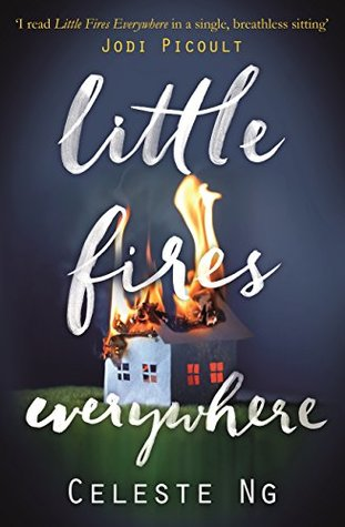 Little Fires Everywhere by Celeste Ng alternative book cover