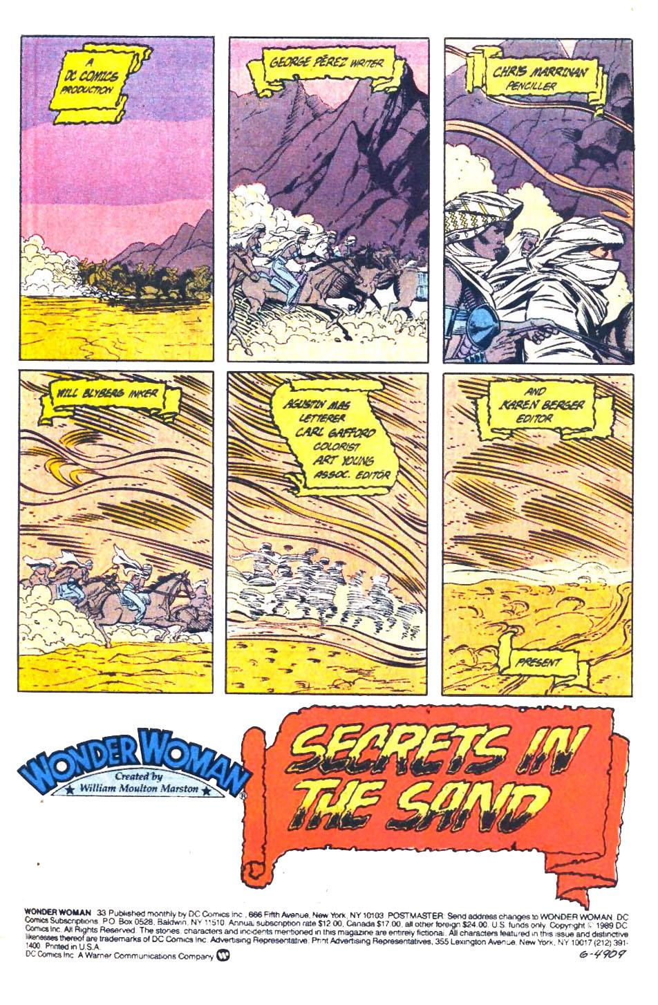 Read online Wonder Woman (1987) comic -  Issue #33 - 2