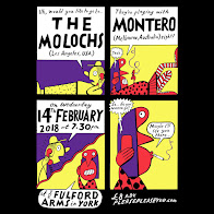 The Molochs + Montero - York