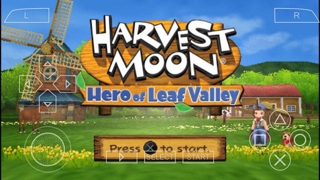 Download Game Harvest Moon Hero Of Leaf Valley PPSSPP