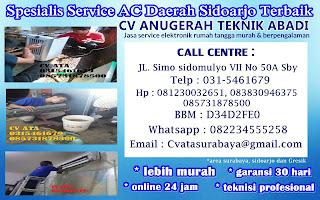 Spesialis Service AC Daerah Sidoarjo Terbaik