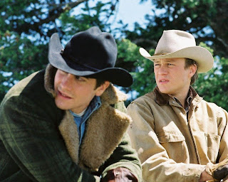 Brokeback Mountain, Directed by Ang Lee, starring Heath Ledger, Jake Gyllenhaal
