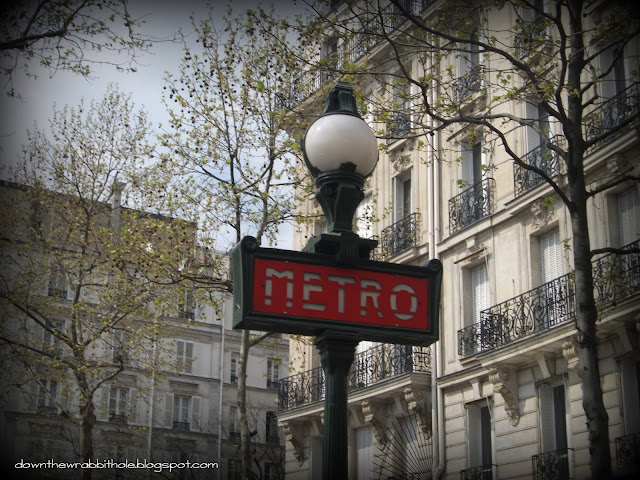 Paris France, Paris Metro railway lines