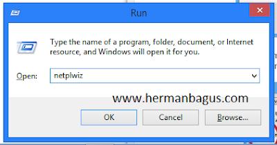 Cara Menghilangkan Password Login Windows 8 Pada Saat dinyalakan Hermanbagus