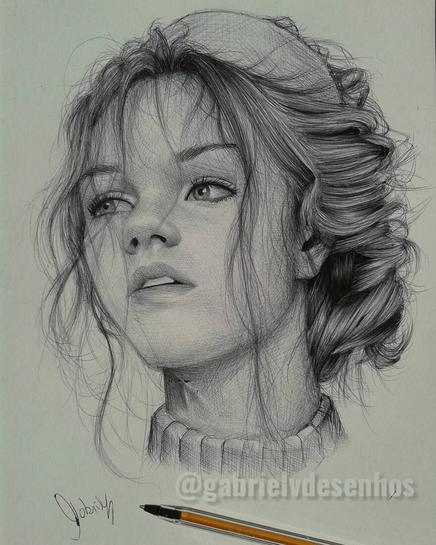 12-Tentative-Interest-Gabriel-Vinícius-Ballpoint-Pen-Portraits-with-very-Different-Expressions-www-designstack-co