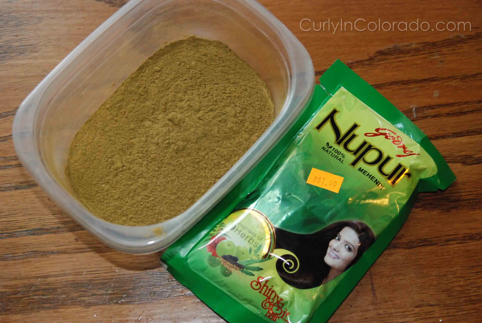 Godrej Nupur Henna Review Curly In Colorado