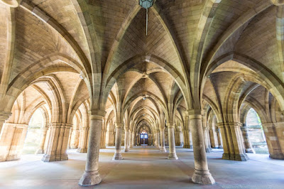 Glasgow University Cloisters_by_Laurence Norah-3