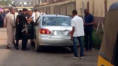 married man die car ogba lagos
