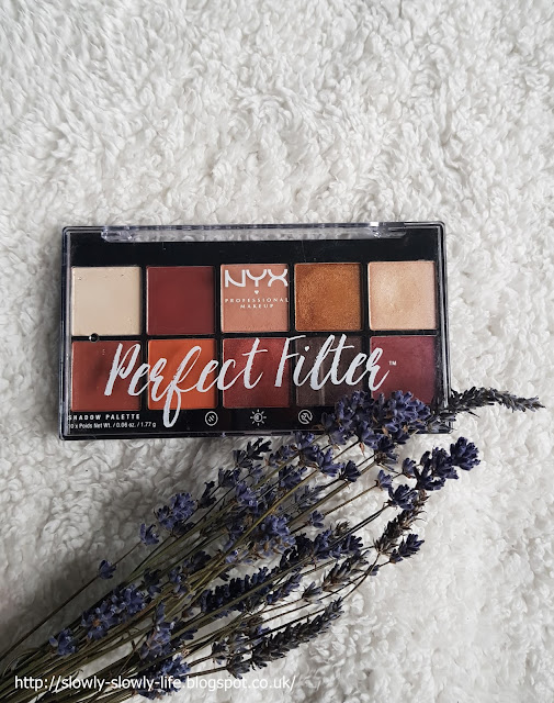 Perfect Filter Shadow Palette NYX