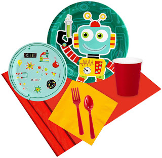 Robot Science Birthday Party Pack