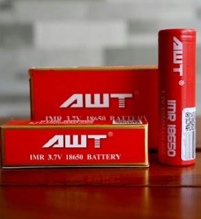 Baterai 18650 IMR IWT 3.7v 3000mah