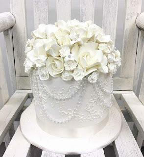 kek kahwin amar baharin dan amyra rosli