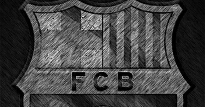 Wallpaper Barcelona Fc 3d Foto Blog Cul 201 Escudo Del Bar 199 A En Blanco Y Negro