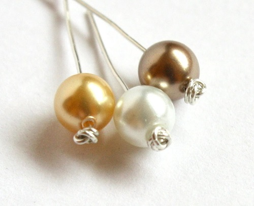 Easy Knotted Headpin Tutorial using Thin Gauge Wire - The Beading ...