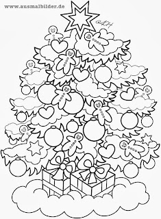 malvorlagen tannenbaum