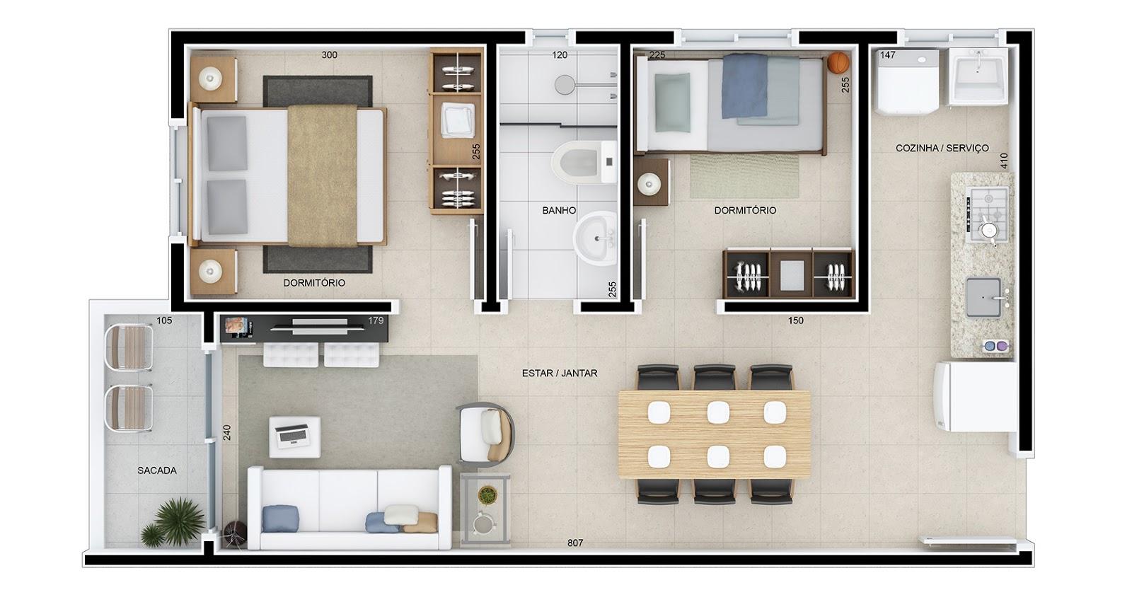 Modelo De Casa 2 Dormit Rios Minha Casa Minha Vida