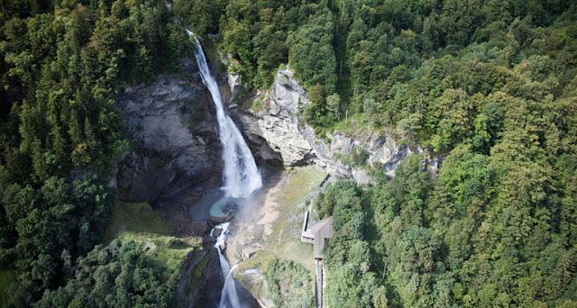 La cascata di Reichenbach in Svizzera