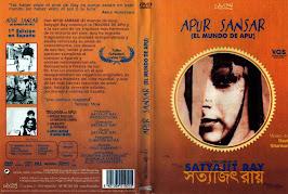 El mundo de Apu (1959) - Carátula