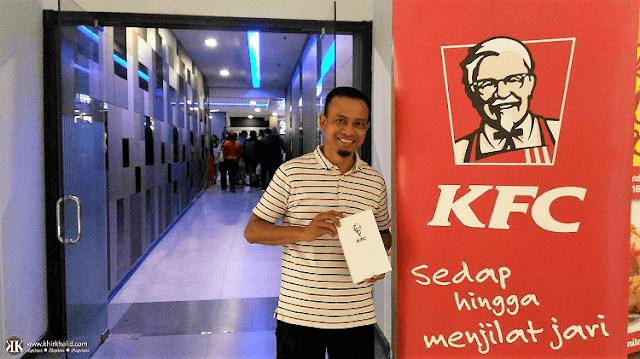 KFC Chizza, GSC NU Sentral, Pitch Perfect 3, Khir Khalid,