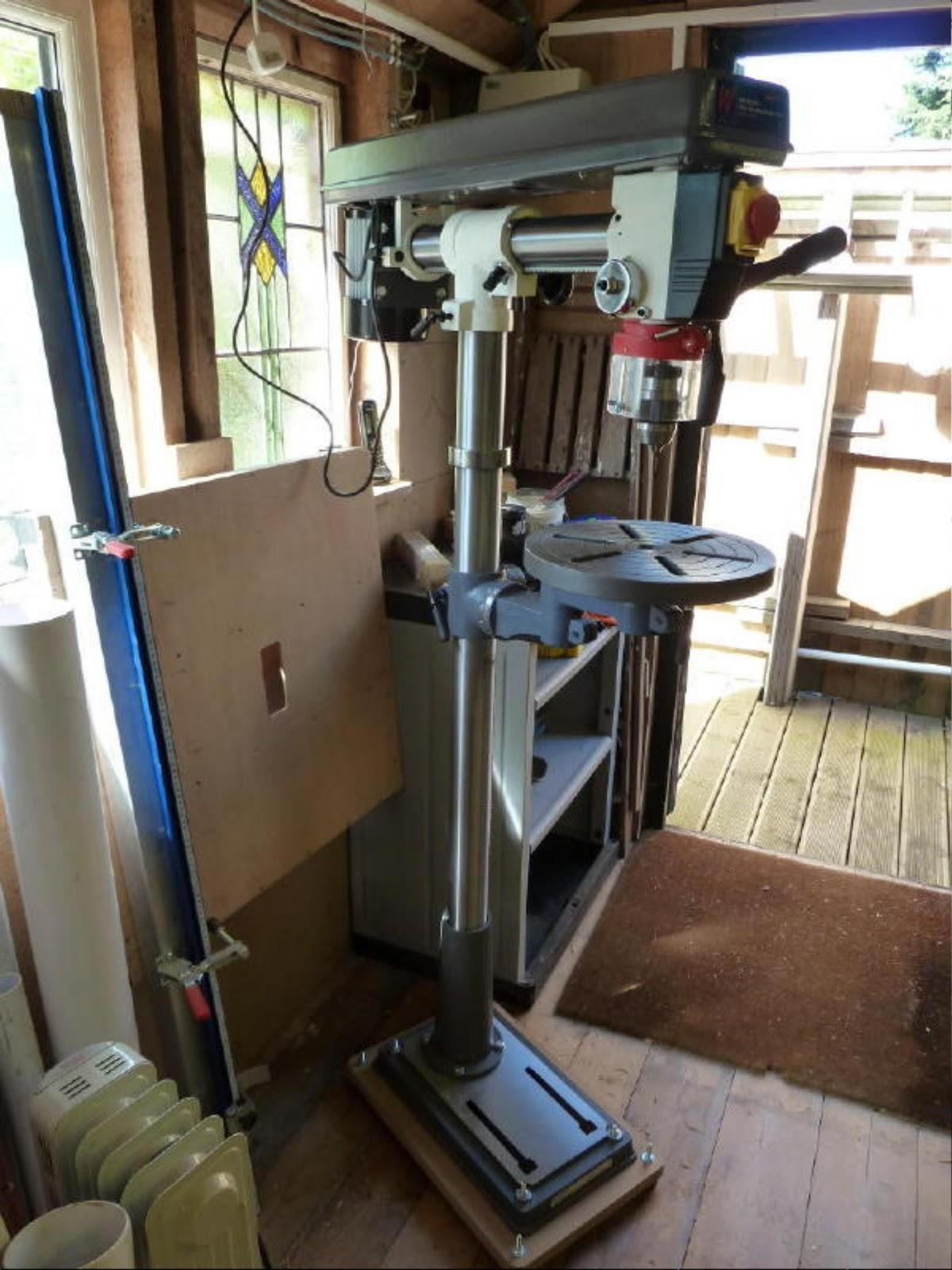 Floor Standing Pillar Drill