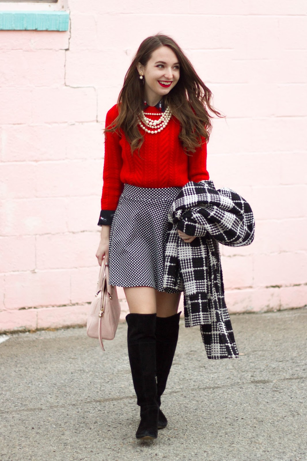 fashion friday valentine's day outfit  the monogrammed life