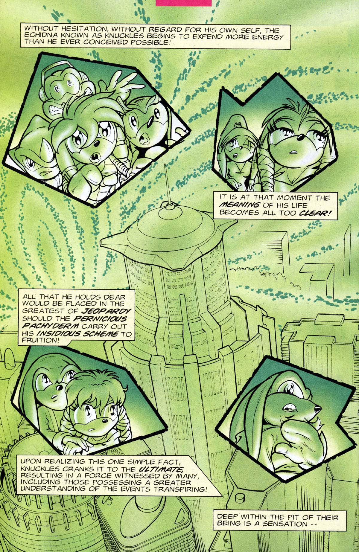 Read online Sonic The Hedgehog comic -  Issue #118 - 23