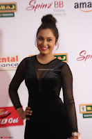 Vennela in Transparent Black Skin Tight Backless Stunning Dress at Mirchi Music Awards South 2017 ~  Exclusive Celebrities Galleries 035.JPG